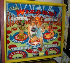 Wizard Pinball Machine  1970's