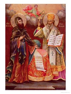 Happy Feast Day of Sts Cyril & Methodius - February 14 #pinterest Some in the Church at that time did not approve of the use of a native language in the Church's liturgy. The two brothers faced criticism. They were called to Rome to have a meeting with the pope. Some people may have been surprised at the way the meeting went. Pope ...........  Awestruck Catholic Social Network