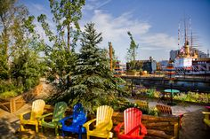 Our Guide To Opening Weekend Of Spruce Street Harbor Park With Week 4 Of The Visit Philly Beer Garden Series, A Photo Booth, Live Music, Stilt Walkers And More, June 27-June 29