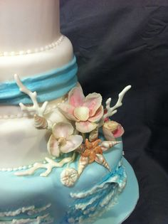 cakeloveyvr.com » Love Your Cake » Ocean Flowers