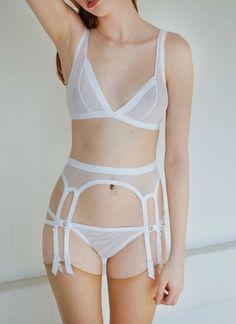 Kayleigh Peddie Estelle garter belt