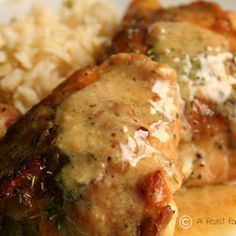 Man-Pleasing Chicken @keyingredient #chicken #delicious #sidedishes