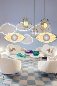 Creat a dreamy and relaxing space in you nursery  baby room for a time of bonding between the mother and the child.