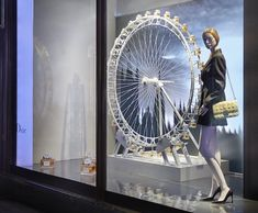 Dior at Harrods Window Displays