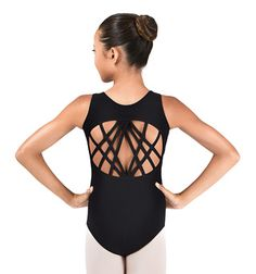 Adult Women/'s Ladies Leotard The Perfect 10 Multi-Strapped Back By DANSHUZ
