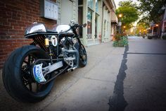 Harley-Davidson Sportster Cafe Racer by Ardent motorcycles #motorcycles #caferacer #motos | caferacerpasion.com