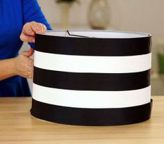 Repurpose a lampshade in just a few minutes.