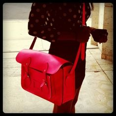 Gorgeous red bag <3