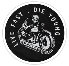 """""""BRANDY MELVILLE LIVE FAST DIE YOUNG"""" Stickers by selinuenal13 