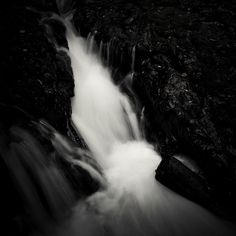 Abstract Photography, Fine Art Paper, Monochrome, Flow, Waterfall, Fine Art Prints, Online Purchase, Darkness, Addiction