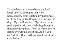 What dating me is like on We Heart It Real Quotes, Mood Quotes, Quotes To Live By, Life Quotes, Sassy Quotes, Pretty Words, Crush Quotes, Relationship Quotes, Relationships