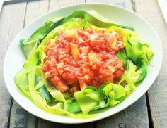 ♥ RECIPE: veggie spaghetti