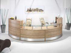 semi round reception desk - Αναζήτηση Google