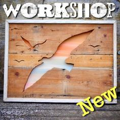 Make your own wooden artwork using a scroll saw & Workshop class Make Your Own, Make It Yourself, How To Make, Scroll Saw, Wood Pallets, Workshop, Learning, Artwork, Atelier