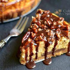 Pumpkin Chocolate Cheesecake