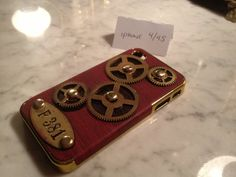 iGearz Hand Made Apple iPhone 4 4S Steampunk Neo by iGearz on Etsy, $64.99
