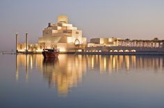 The Museum of Islamic Art in Qatar. The lighting alone is just so fresh. Beautiful.