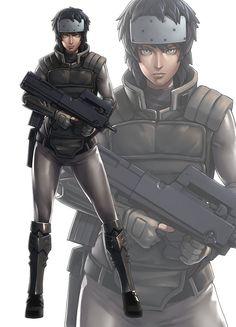 Major Motoko Kusanagi | #anime #manga #gits