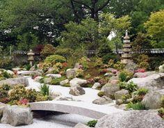 Японский сад камней — фото