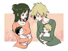 Mommies of heroes!~ <3 KatsuDeku <3