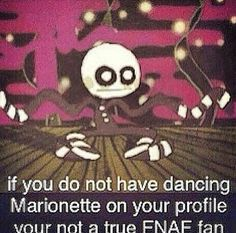 go marionette, go marionette, it's your birthday