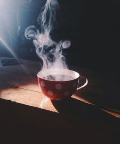 Early Morning Cup of Coffee