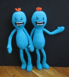 Amigurumi Rick And Morty : Harley Quinn and Joker by NerdDollz. Inspiration Geeky ...