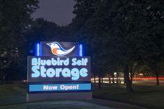 Storage Units in Greater Toronto - Bluebird Self Storage Facilities Self Storage, Secure Storage, Storage Facility, Blue Bird, Ontario, Toronto, The Unit