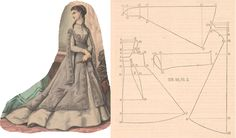1868 simple outer-garment & pattern