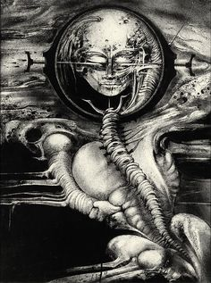 BBC Arts - BBC Arts - Alien monsters: the terrifying visions of HR Giger