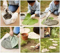 Camino de Jardín de hojas ‹ Mi nuevo Hogar – Subsidios, Inmobiliario, Mobiliario, Decoración, Diseño, Vida Sana y más