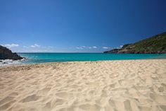 Most Favorite Beach, Gouverneur Beach, on St. Barts Island.