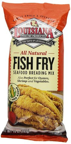 Louisiana Fish Fry Products Natural Fish Fry, New Orleans Style, 10-Ounce Bags (Pack of 12) >>> Be sure to check out this awesome product.