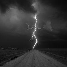 Kanorado Lightning, Kansas. - Storm photography