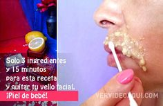 Posts in the Belleza Category at Ver Video Aquí Ver Video, Quites, Beauty, Tan Solo, Posts, Upper Lip, Healthy Skin, 3 Ingredients, Drinks