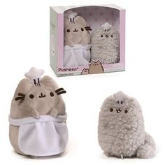 Image result for pusheen and pusheen's mom plushie