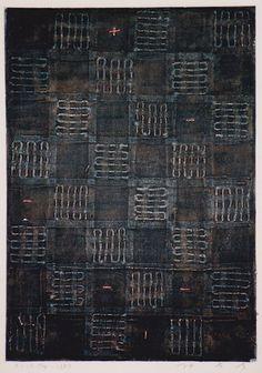 D-14.May.1999 painting, collage 林孝彦 HAYASHI Takahiko