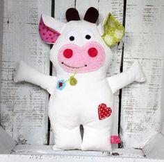 Kuscheltier Kuh Karla von LiebensWert auf DaWanda.com