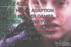 hunger games fact