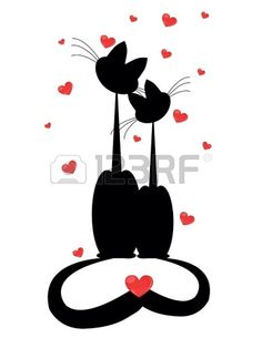 Two cats Illustrations and Clipart. Two cats royalty free illustrations, drawings and graphics available to search from thousands of vector EPS clip art providers. Silhouettes, Silhouette Tattoos, Stock Foto, Here Kitty Kitty, Weird Art, Love Drawings, Best Friends Forever, Pottery Painting, Free Illustrations