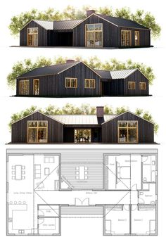 small house plans pinterest floor home modern simple plan designs