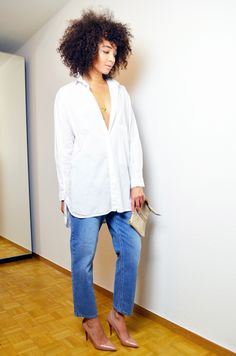 #mercredie #blog #mode #fashion #blogger #curly #hair #natural #afro #curls #nappy #4c #mixed #girl #boyfriend #jean #asos #mom #louboutin #nude #pigalle #10cm #boyfriend #sexy #what #shirt