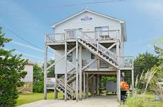 OUTRIGGER - 3 bedrooms, 1.1 baths on the Avon ocean side