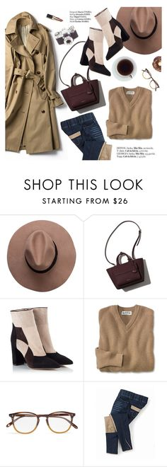 """""""Ootd"""" by punnky ❤ liked on Polyvore featuring Fratelli Karida, Garrett Leight, Haute Hippie and Bobbi Brown Cosmetics"""