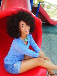 Great tight curly hair!