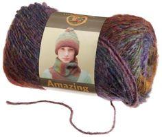 Lion Brand Yarn 825-203U Amazing Yarn, Wildflowers Lion Brand Yarn Company http://www.amazon.com/dp/B0042TSD7M/ref=cm_sw_r_pi_dp_Dca5tb1N11RH2