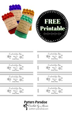 Magic image with regard to printable crochet labels