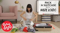 """Marie Kondo is famous for her KonMari method and bestselling book, """"The Life Changing Art of Tidying Up""""—both of which promise to help you wrest control of the stuff in your home. But what about when you have to take some of that stuff on the road? Suitcase Packing Tips, Packing Tips For Travel, Travel Hacks, Apartment Therapy, Minimalist Packing, Konmari Method, Travel Wardrobe, Travel Outfits, Tidy Up"""