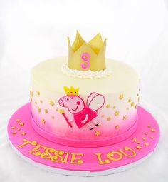 Peppa Pig Cake Design by Cake Bash Studio & Bakery Sherman Oaks