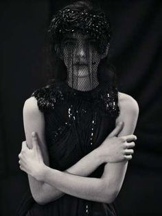Romantic Gothic Garments  The Augustin Teboul Winter 2012/13 Collection is Darkly Chic